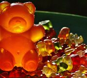 Closeup Photography of Gummy Bears Royalty Free Stock Photography