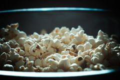 Closeup Photography of White Popcorns royalty free stock image