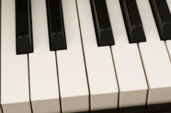 Closeup of Piano. Great for music background Royalty Free Stock Photos