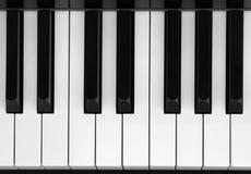 Closeup of piano key Royalty Free Stock Image