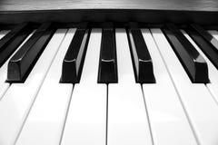 Closeup piano keyboard. Stock Photography