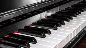 Closeup of a piano keyboard Royalty Free Stock Photo