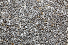 Closeup picture of chia seed Stock Photo