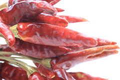 Closeup picture of red pepper Royalty Free Stock Photography