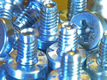 Closeup Picture of Screw Royalty Free Stock Images