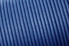 Wire rope texture - heavy duty steel wire cable or rope for heav Stock Image