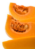 Closeup of the pieces of butte. Rnut squash stock photography