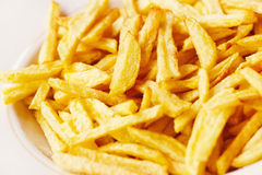 Closeup of a pile of french fries Royalty Free Stock Image