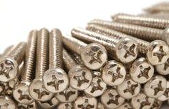 Closeup pile of screw Royalty Free Stock Image