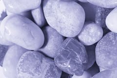 Closeup of a pile of sea pebbles Stock Photography