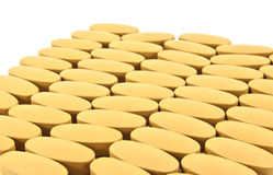 Closeup pills Stock Photos