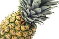 Closeup pineapple fruit isolated Stock Image