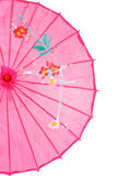 Closeup pink asian umbrella Stock Images