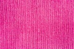 Closeup of pink fabric texture stock photos