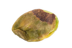 Closeup of a pistachio seed with no shell Stock Photos