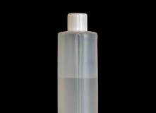 Closeup of a plastic bottle Stock Image