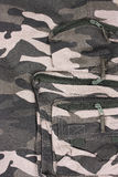 The closeup pocket camouflage pants Royalty Free Stock Photos