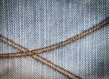 Closeup the pocket of jean pants Stock Photo