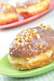 Closeup of polish donuts. Stock Photo