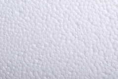 Closeup of polystyrene. Foamed polystyrene for background usage Royalty Free Stock Photography