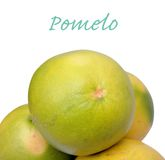 Closeup of pomelo Royalty Free Stock Photo