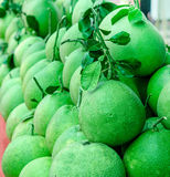 Closeup of pomelo Royalty Free Stock Photography