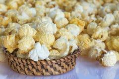 Closeup Pop corn Stock Image