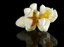 Closeup of a Popcorn Stock Images