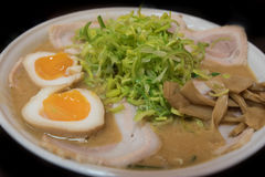 Porc noodle ramen Stock Photography