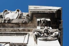 Closeup of Porta Pia, Ancona, Italy Royalty Free Stock Images