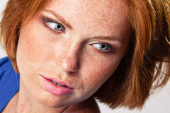 Closeup portrait Royalty Free Stock Images