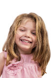Closeup portrait of an adorable  happy girl Stock Image