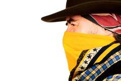 American cowboy closeup Stock Photo