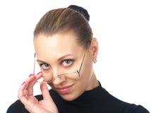 Closeup portrait of attractive Stock Photos
