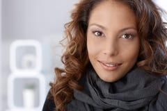Closeup portrait of attractive female Stock Image