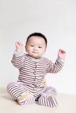 Closeup portrait of a baby boy Stock Photo