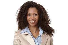 Closeup portrait of beautiful businesswoman Royalty Free Stock Photos