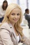 Closeup portrait of beautiful businesswoman Royalty Free Stock Photography