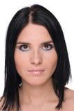 Closeup portrait of beautiful fashion woman Royalty Free Stock Photo