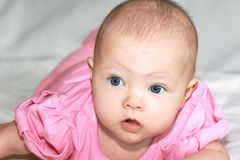 Closeup portrait of beautiful girl Royalty Free Stock Images