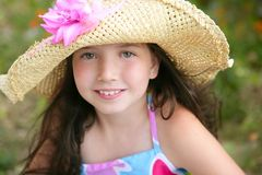 Closeup portrait of beautiful teen girl Royalty Free Stock Photography