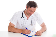 Closeup portrait of a doctor Royalty Free Stock Photography