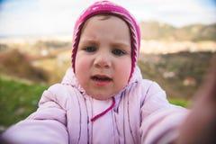 Closeup Portrait of Girl Stock Photography