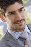 Closeup portrait of happy businessman Royalty Free Stock Image