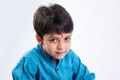 Closeup portrait of happy indian boy Royalty Free Stock Photography