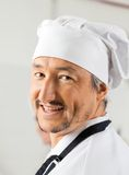 Closeup Portrait Of Happy Male Chef Royalty Free Stock Image