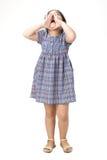 Closeup portrait of little asian girl Stock Image