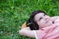 Closeup portrait of a little happy boy Stock Photography