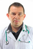 Closeup Portrait of a male doctor Royalty Free Stock Photo