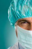 Closeup portrait of male doctor Royalty Free Stock Image